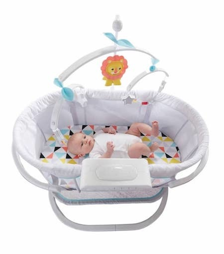 fisher price soothing motions baby